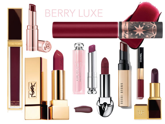 berry luxe- fall beauty trends