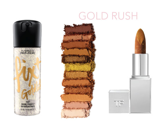 gold rush-fall beauty trends